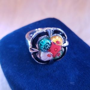 ▪︎(8) Artisan Glass & Enamel Ring▪︎